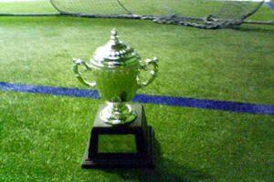 第1回 中四国フットサル施設連盟選手権 オーバ30クラス優勝カップ画像