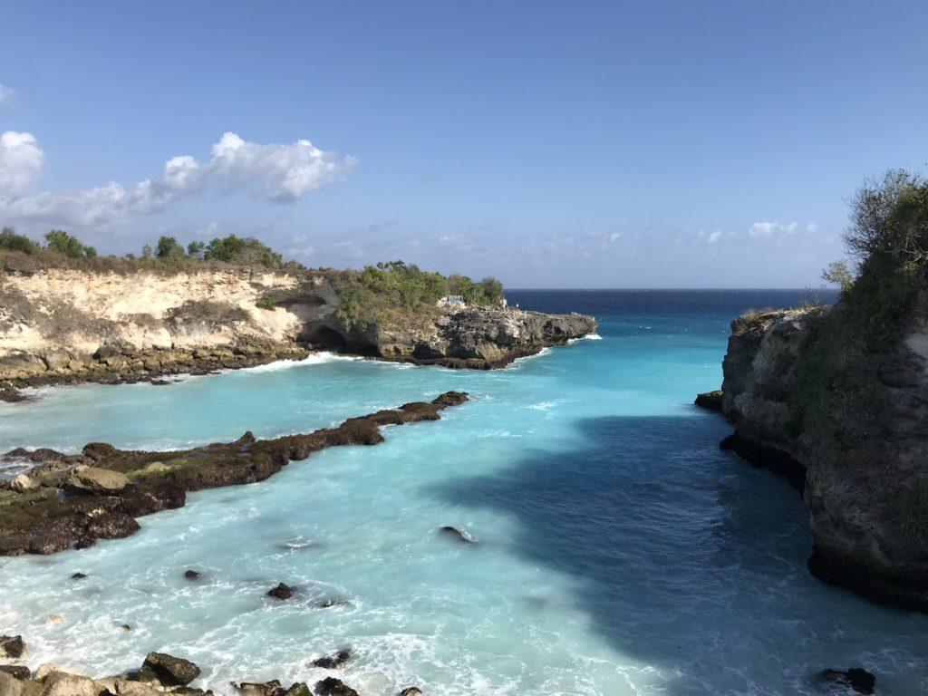 バリ島、サヌールからアイランドトリップでレンボンガン島、チュニンガン島、ブルーラグーン