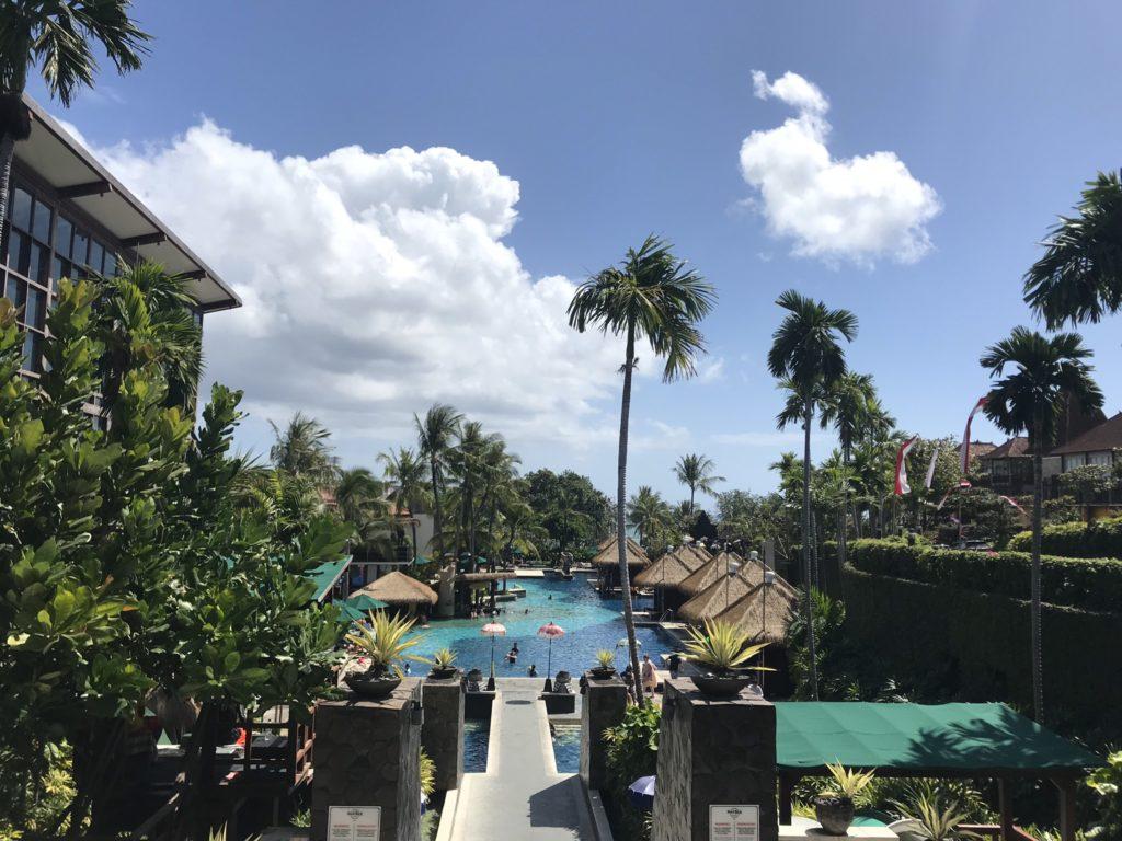 バリ島 クタのハードロックホテル バリ(Hard Rock Hotel Bali)に到着